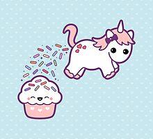 Cute Pooping Unicorn by sugarhai