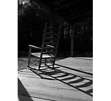 Porch Rocker Photographic Print