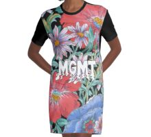 MGMT Graphic T-Shirt Dress
