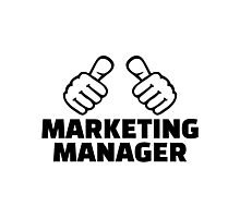Marketing manager Photographic Print