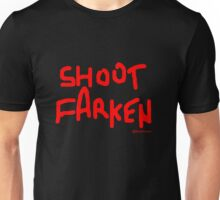 Shoot Farken Red Unisex T-Shirt