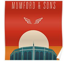 MUMFORD SON FALL TOUR Poster