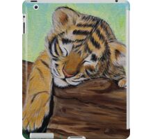Sleepy Tiger Cub iPad Case/Skin