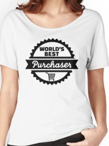 World's best purchaser Women's Relaxed Fit T-Shirt