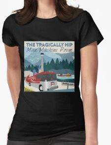 TRAGICALLY HIP POEM TOUR 2016 Womens Fitted T-Shirt