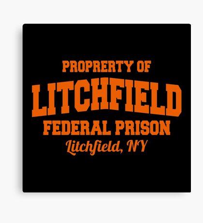 federal prison, lutchfield Canvas Print