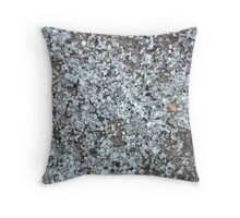Soothing Broken Glass Throw Pillow