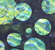 Green Cosmos by Heather Holland by Heatherian