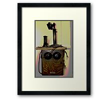 One Ringy Dingy.... Framed Print