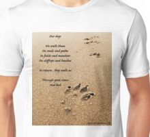 Our dogs - poem Unisex T-Shirt