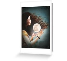 Meet the Moon  Greeting Card