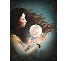 Meet the Moon  Photographic Print