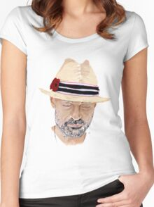 Gord Downie Portrait Women's Fitted Scoop T-Shirt