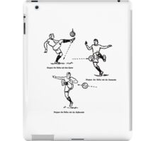 Stoppen des Balls Stopping the Ball iPad Case/Skin