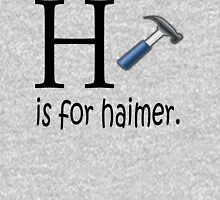 Funny Alphabet: H is for Hammer Hoodie