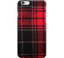 Red & Black Flannel iPhone Case/Skin