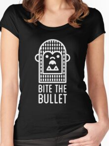 bite the bullet Women's Fitted Scoop T-Shirt