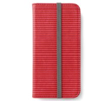 Red Pink striped case iPhone Wallet/Case/Skin