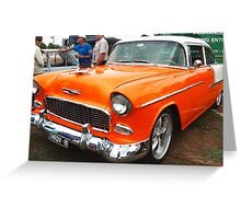 50s Chevrolet Greeting Card