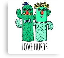 Love Hurts  Canvas Print