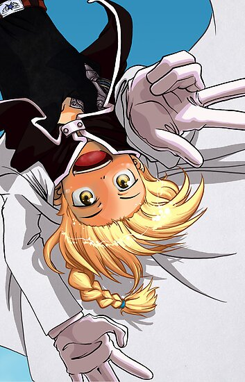 Edward Elric Flying Monkey by KrisKenshin