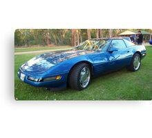 90s Corvette Canvas Print