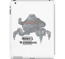 Henry J. Waternoose III iPad Case/Skin