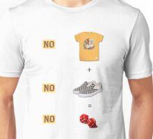 No Shirt, No Shoes, No Dice  Unisex T-Shirt