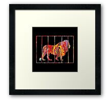 Circus King Framed Print