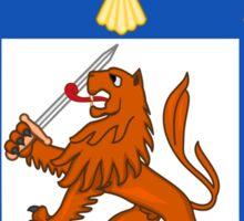 Coat of Arms of Santiago Sticker