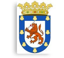 Coat of Arms of Santiago Canvas Print