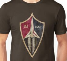 CCCP Rocket Shield Unisex T-Shirt