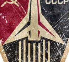 CCCP Rocket Shield Sticker
