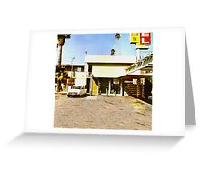 Dirty Deeds Done Dirt Cheap Greeting Card