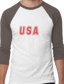 USA Men's Baseball ¾ T-Shirt