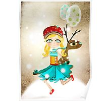 Fairy Tale Childrens Art Poster