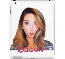 Zoe Sugg -Zoella iPad Case/Skin