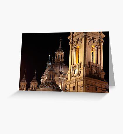 Basilica de Nuestra Senora del Pilar, Zaragoza, Spain Greeting Card