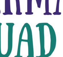 Mermaid Squad Sticker