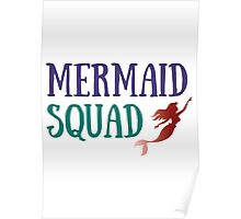 Mermaid Squad Poster