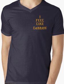I FEEL LIKE LEBRON Mens V-Neck T-Shirt