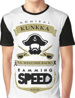 Admiral Kunkka Dota 2 Graphic T-Shirt