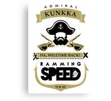 Admiral Kunkka Dota 2 Canvas Print