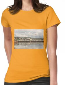 Pier: Duluth, Minnesota - United States of America Womens Fitted T-Shirt