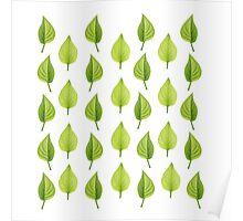 Little Lilac Leaf Poster