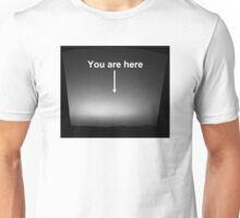 Earth from Mars - You are here Unisex T-Shirt