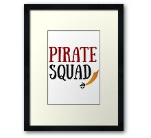 Pirate Squad Framed Print