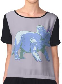 Triceratops Chiffon Top