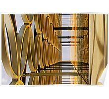 Golden Hoops Poster