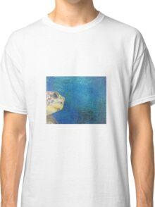 oil paint sea turtle Classic T-Shirt